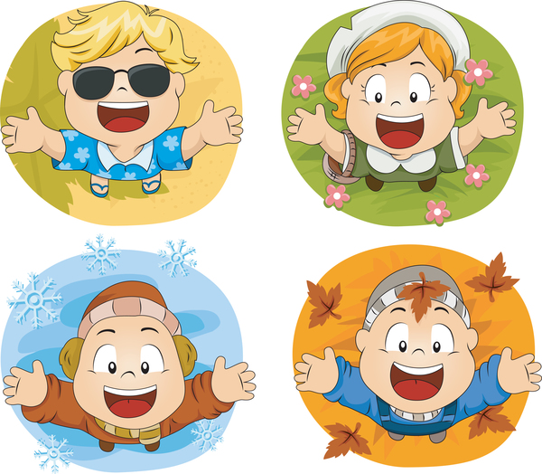 seasonal images of children