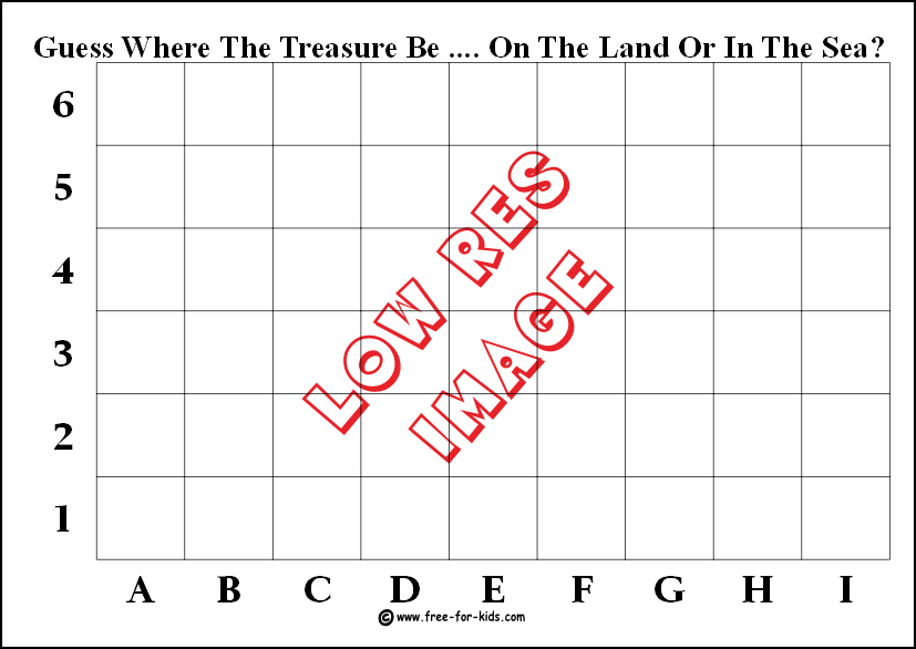 image of blank fund raising treasure map for recording contact details