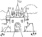 Preview of Castle Doodle Image