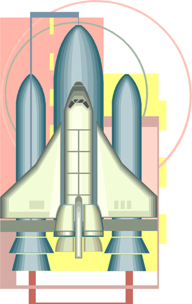 image of the nasa space shuttle