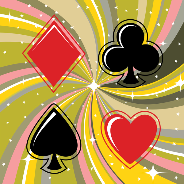 card suits diamonds clubs hearts spades