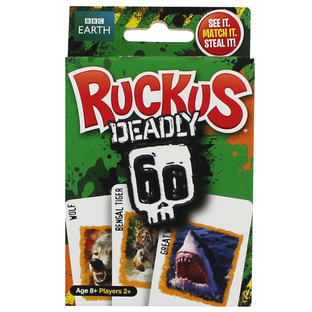 image of ruckus deadly 60 card game