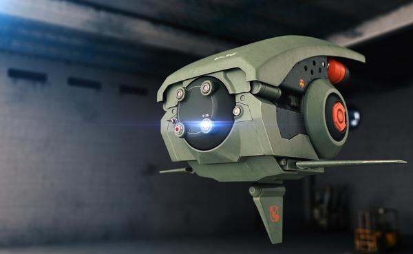 sci-fi drone
