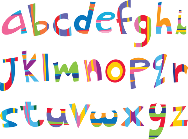 a to z all the letters of the alphabet