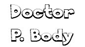 doctor p body logo