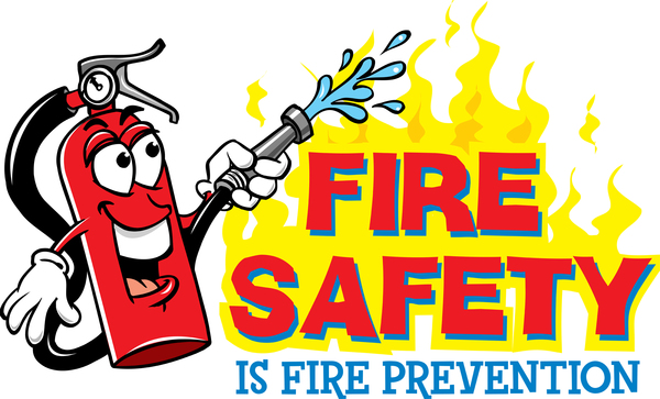 fire safety is fire prevention message