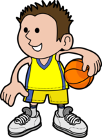 image of a boy holding a basketball