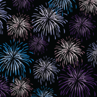 image of fireworks in a night sky for november 5th bonfire night