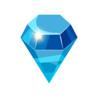 image of a sparkling diamond