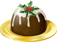 image of a christmas pudding for christmas activities and games