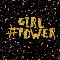logo showing #girlpower in connection with the proposed live-action reboot of The Powerpuff Girls